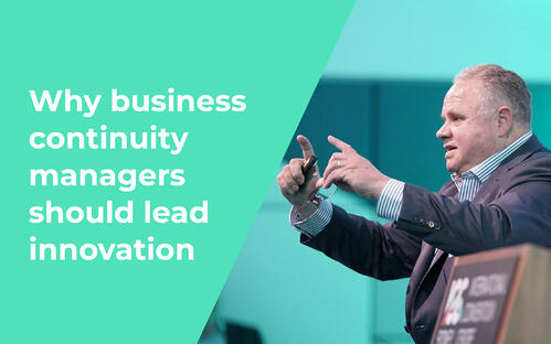 Why business continuity managers should lead innovation