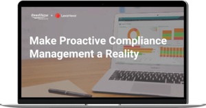 make proactive compliance a reality