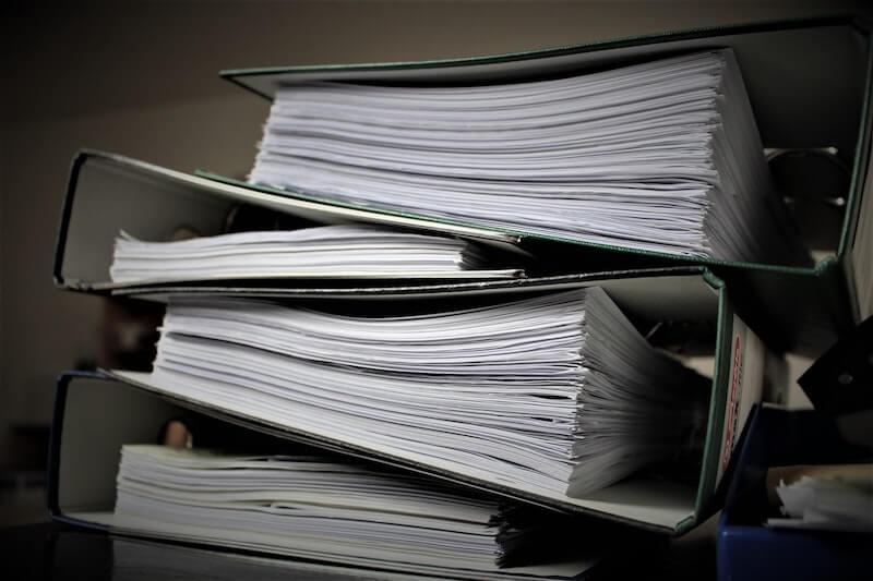 Reduce paper processes